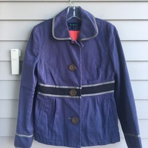 BODEN Heavy Twill Button Jacket Sz.10 EU 6 US